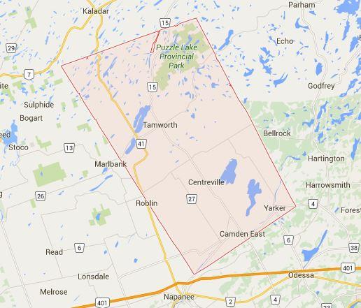 Stone Mills Township Google Map