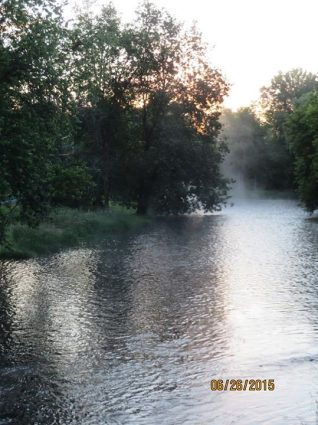 Napanee River in Camden East Courtesy of Jane Brunton