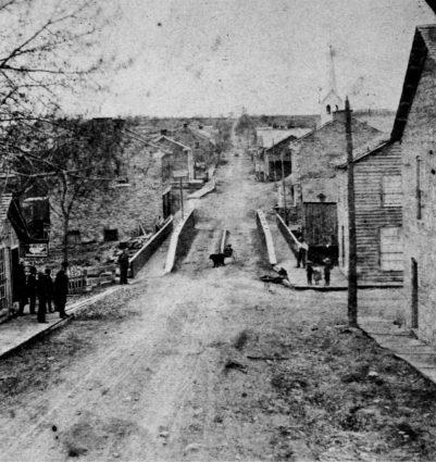 Village of Newburg, 1800s