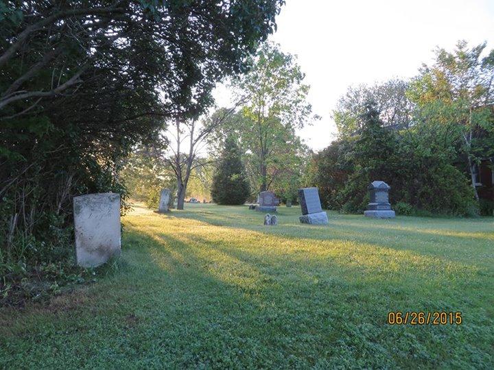St. Lukes Church Cemetery Courtesy of Jane Brunton