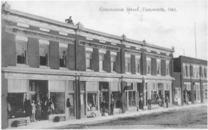 Concession St., Tamworth ON  CIRCA 1910